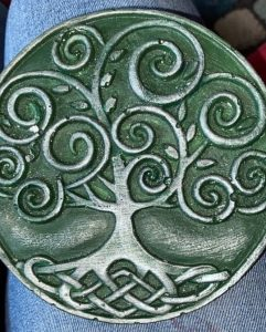 Tree Plaque Green